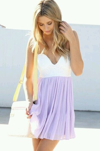 dress lavender dress summer dress casual dress purple dress