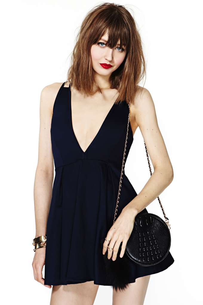 Nasty Gal Night And Day Dress - Navy in  Clothes Dresses at Nasty Gal