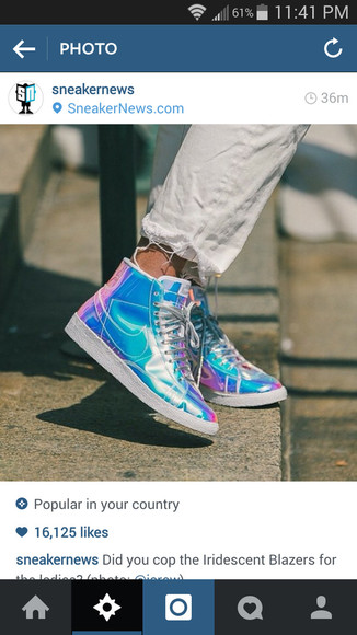 shoes nike sneakers nike pro sneakers high top sneaker nike air nike sb iridescent holographic