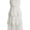 Meridian circle-lace silk dress