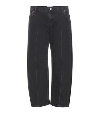 jeans rockabilly black