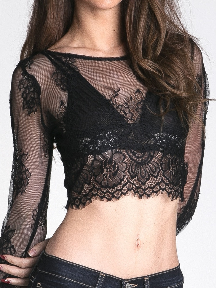Lace like you mean it top