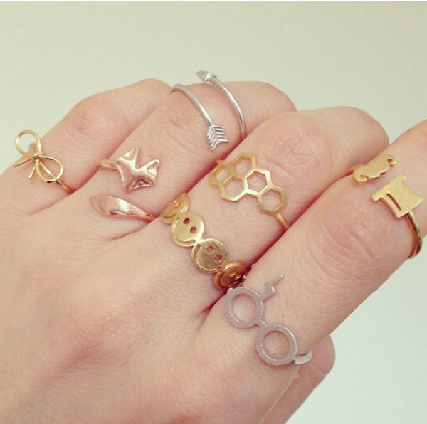 jewels ring gold silver ring