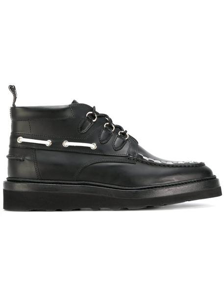 Weber Hodel Feder women leather black shoes