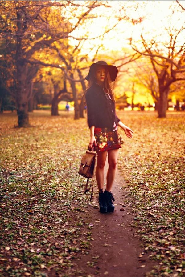 kawaiilabo t-shirt skirt shoes hat bag