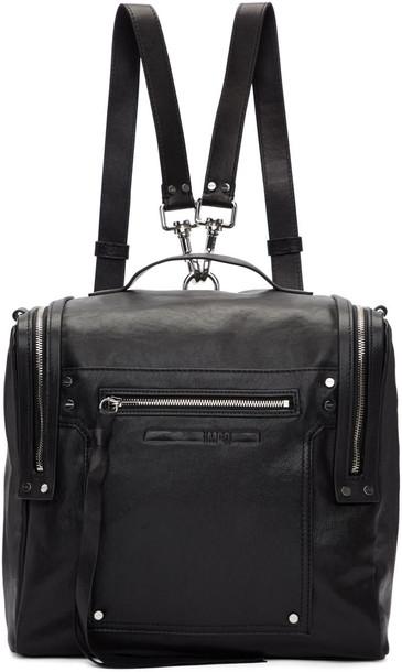 McQ Alexander McQueen backpack black bag