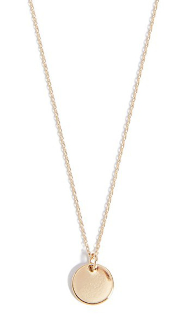 Cloverpost Limit Necklace in gold / yellow