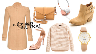 a cup of style blogger bag jewels winter outfits camel watch camel coat headphones sandals ankle boots knitted sweater