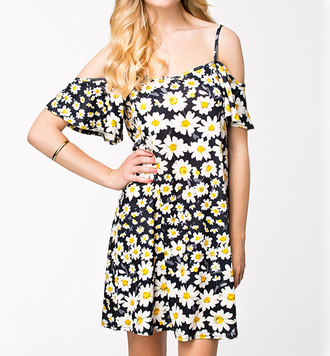 dress floral floral dress daisy