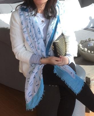 scarf armani exchange blue armani armani jeans silk scarf printed scarf trendsgal.com crop tops ax