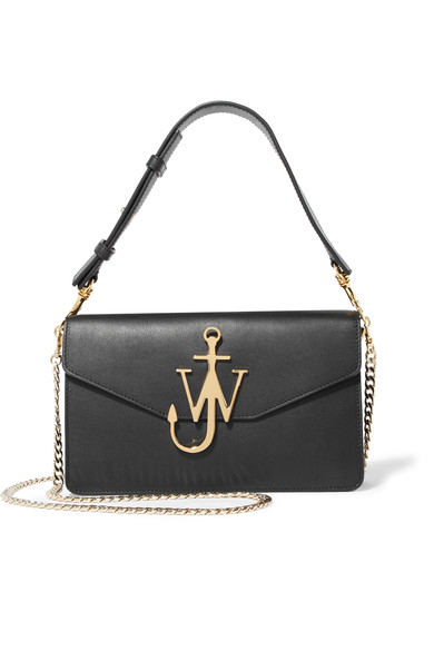 JW Anderson - Logo leather shoulder bag