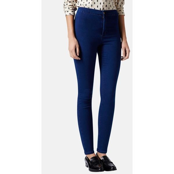 Topshop Moto 'Joni' High Rise Skinny Ankle Jeans (Petite) - Polyvore
