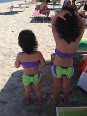 swimwear,mandorlajewels bow children  sister,jared leto