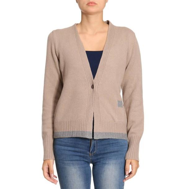 Fabiana Filippi cardigan cardigan women camel sweater