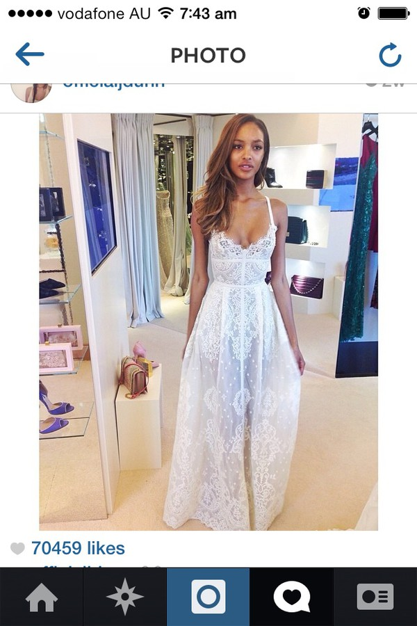 dress jourdan dunn model white dress gown formal formal dress