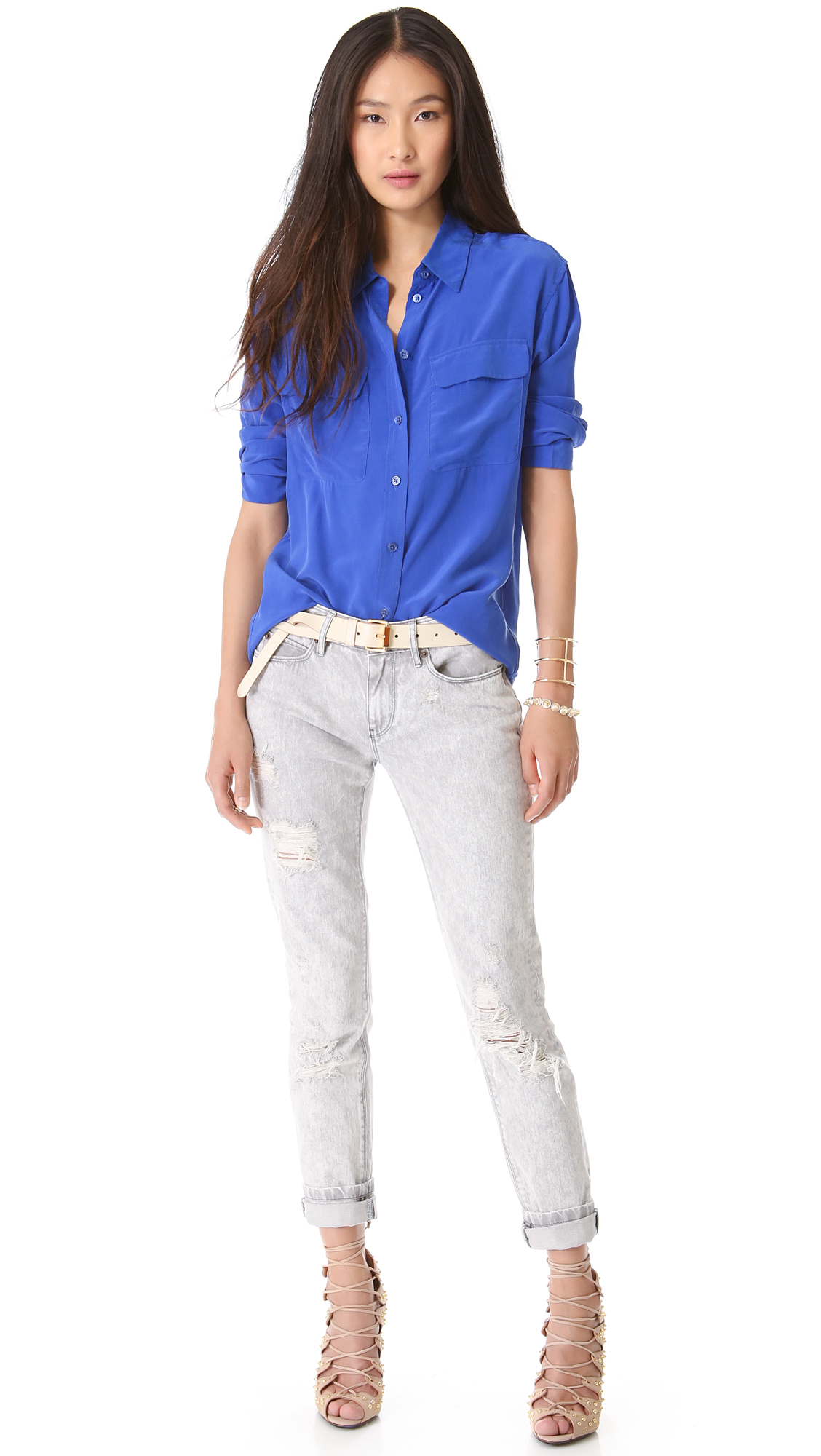 Equipment Signature Blouse | SHOPBOP