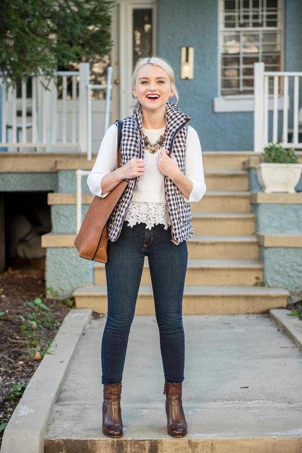 Poor Little It Girl Blogger Jacket Jeans Bag Sweater