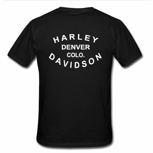 Legend motorcycle T Shirt back