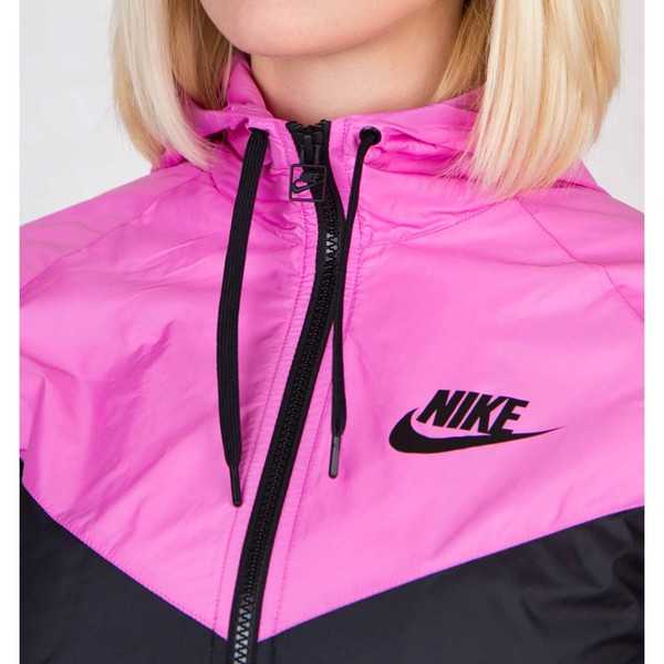 jacket hi black and pink just do it wind windrunner windbreaker nike windrunner sportswear run swag swag winter outfits party cold hot breaks wind stylish bf fe nike