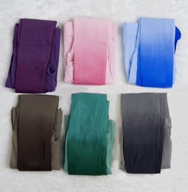 Modern Trendy Sexy Gradient Colors Lady's Velvety Pants Pantyhose Leggings Stockings DCH Free Shipping-in Tights from Apparel & Accessories on Aliexpress.com