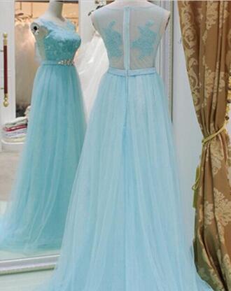 formal crystal quartz 2015 prom dresses 2014 sheer evening gowns slight key blue formal evening dresses