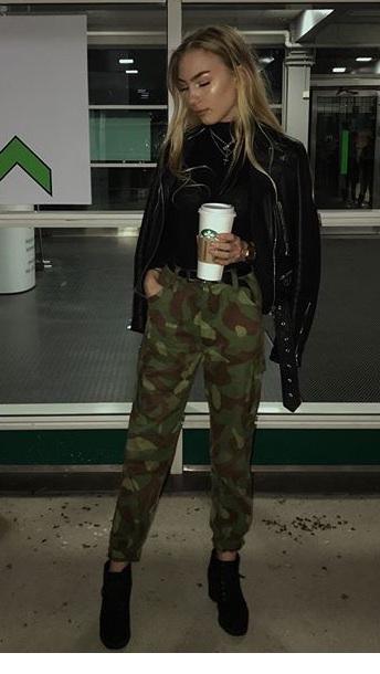 pants armed green
