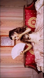 dress,vintage,right there,antique,juliet,pink,ariana grande,music video,pretty