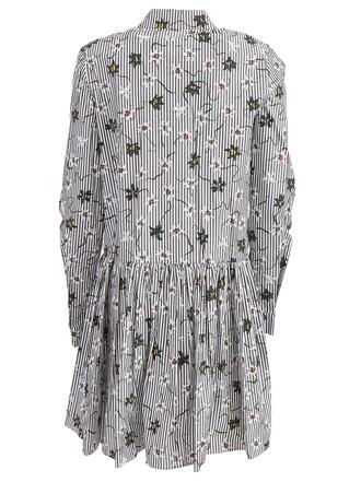 dress shirt dress floral