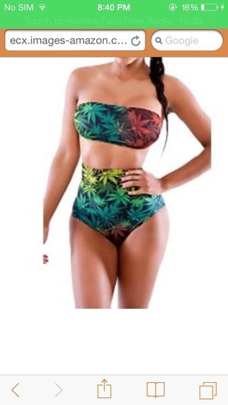 swimwear marijuana
