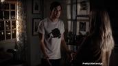shirt,caleb,pretty little liars,white and black tshirt,haleb,cats