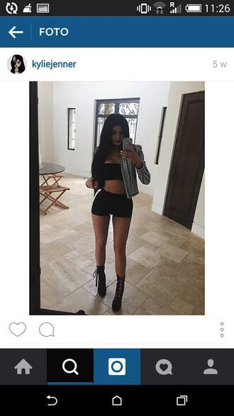 jacket kylie jenner cool hipster fashion white black hat shorts