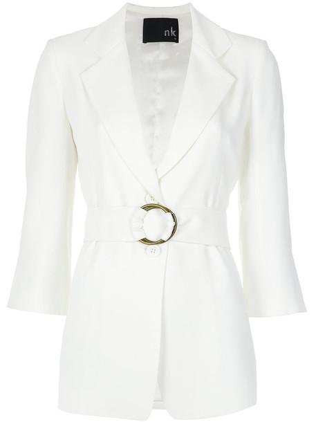 blazer women white jacket