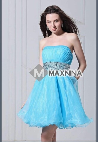 dress sky blue blue blue dress cute cute dress prom dress prom short prom dress prom beauty sexy prom dress blue prom dress