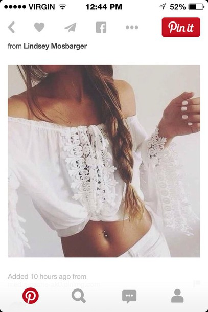 blouse white see threw boho shirt boho chic boho
