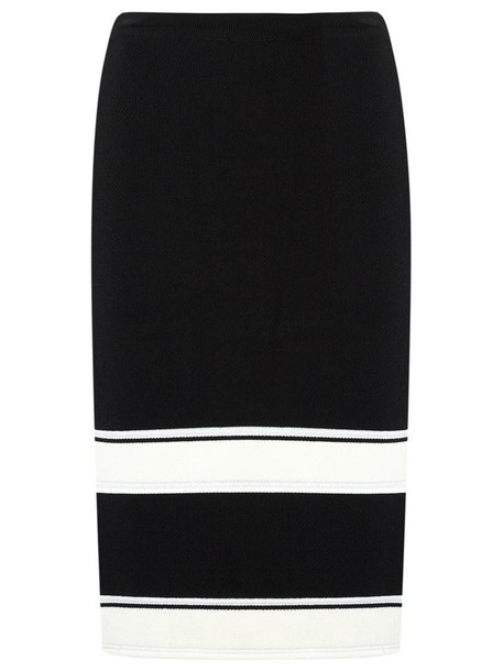 EGREY skirt midi skirt knit women midi black