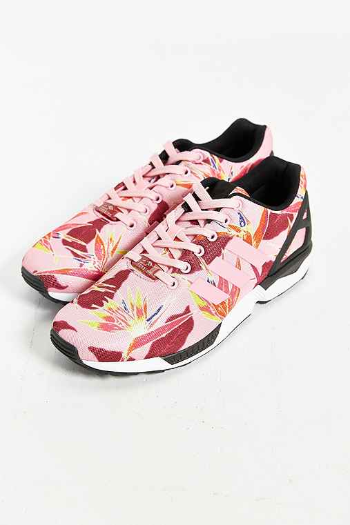 Adidas originals zx flux floral print sneaker urban for Adidas floral shirt urban outfitters