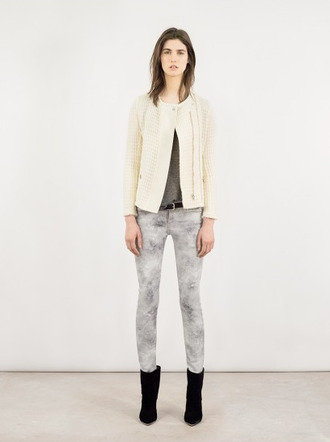 jacket iro fashion lookbook pants shoes