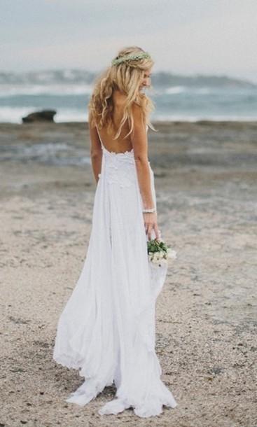 767f1b3f945 dress white prom white dress prom dress wedding clothes wedding dress sexy  spaghetti strap sleeveless pure