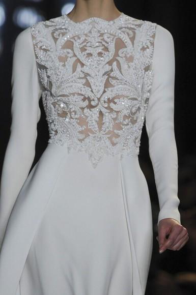 prom dress long dress white dress style sequin dress