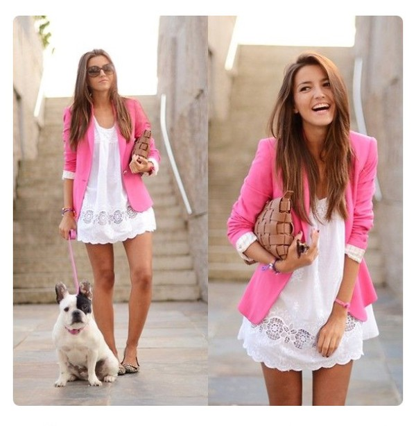 Women'S Pink Blazer Jacket | Outdoor Jacket