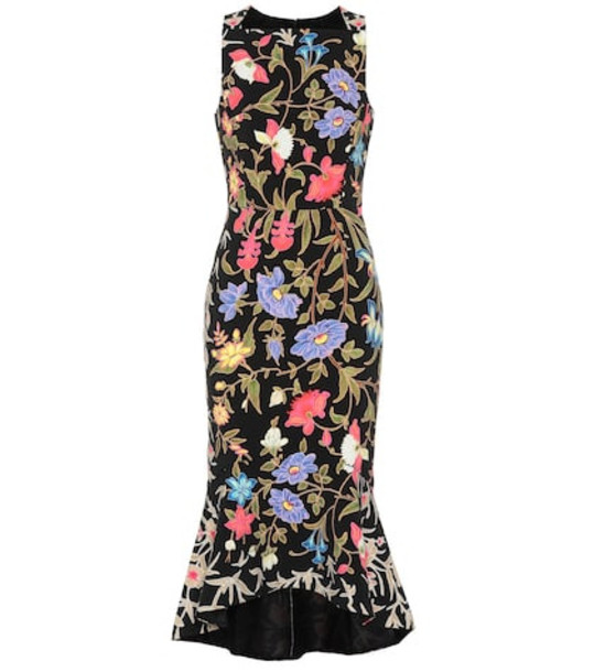 Peter Pilotto Printed midi dress