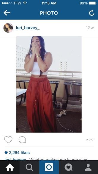pants tori harvey kim kardashian kylie jenner kendall jenner kourtney kardashian khloe kardashian