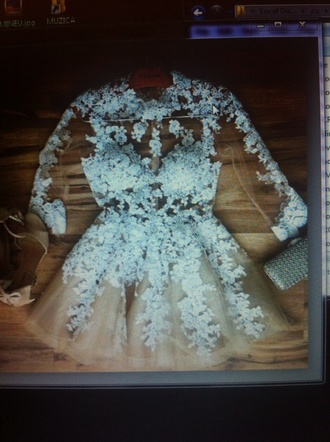 dress white dress cream dress cream high heels
