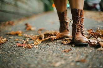 shoes boots brown fall outfits combat boots autumn shoes fall colors