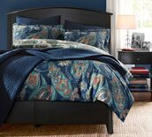 home accessory,bedding,bedroom,paisley