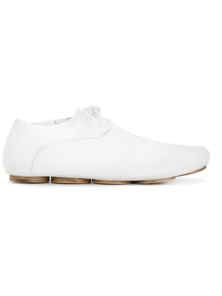 women sneakers lace leather white shoes