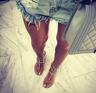 shoes sandals spiked shoes flat sandals beige nude shoes nude flats tan nude strappy