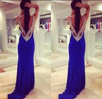 dress prom dress jovani long prom dress beads blue prom dresses