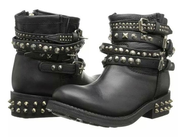 shoes studs ankle boots leather boots studded shoes spikes