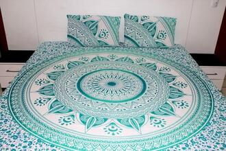 home accessory green bedding set green duvet cover mandala duvet cover set mandala quilt cover mandala comforter cover mandala donna cover set boho bedding set bohemian bedding set medallion bedding set medallion duvet cover medallion comforter cover medallion quilt cover medallion donna cover indian duvet cover indian quilt cover indian comforter cover twin bedding set bedroom boho bedroom wedding gift